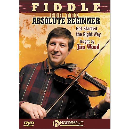 Homespun Fiddle for The Absolute Beginner DVD