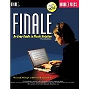 Berklee Press Finale Berklee Press Series Softcover Written by Thomas E. Rudolph