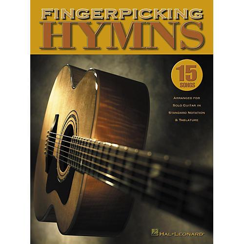 Hal Leonard Fingerpicking Hymns Guitar Tab Songbook-thumbnail