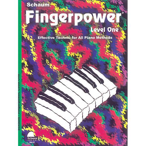SCHAUM Fingerpower Book Level 1-thumbnail