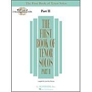 G. Schirmer First Book Of Tenor Solos Part 2 Book/2CD Pkg