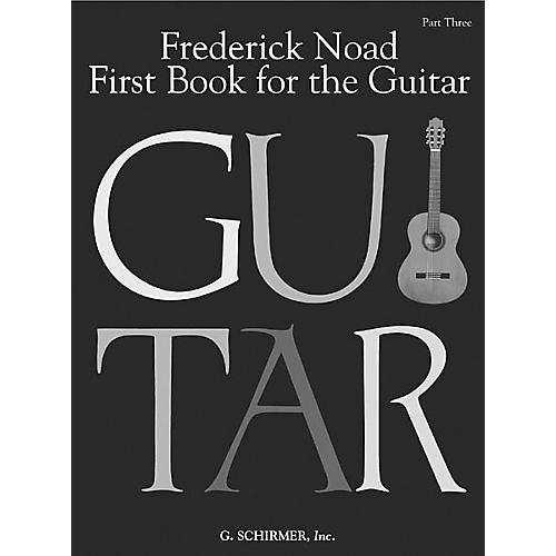 G. Schirmer First Book for the Guitar - Part 3 Book-thumbnail