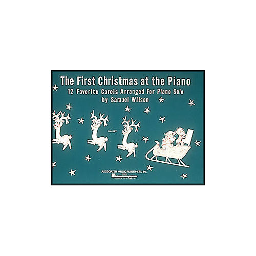 Music Sales First Christmas At The Piano By Wilson