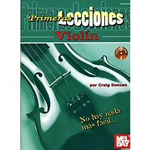 Mel Bay First Lessons Violin Spanish Edition Book/CD Set