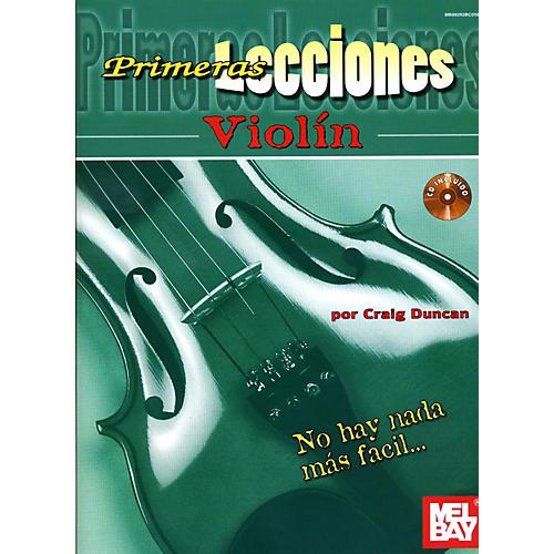 Mel Bay First Lessons Violin Spanish Edition Book/CD Set