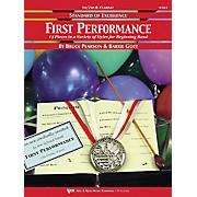KJOS First Performance Clarinet