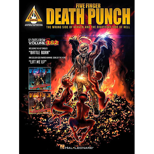 Hal Leonard Five Finger Death Punch - The Wrong Side of Heaven and the Righteous Side of Hell-thumbnail