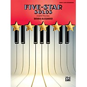 Alfred Five-Star Solos, Book 6 Late Intermediate