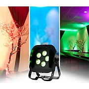 American DJ Flat Par QA5XS RGBA LED Wash Light