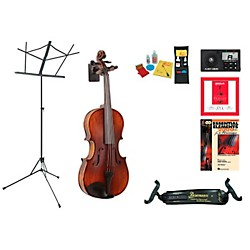"Florea Model Podigy Beginner Student 15"" Viola Bundle (ProdigyVA15-123 Kit)"