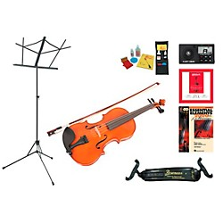 "Florea Model Recital II Beginner Student 15"" Viola Bundle (RecitalIIVA15-123 Kit)"