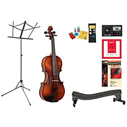 Florea Prodigy Beginner Student 3/4 Violin Bundle (ProdigyVN34-123 Kit)