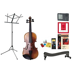 Florea Prodigy Beginner Student 4/4 Violin Bundle (ProdigyVN44-123 Kit)
