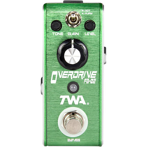 TWA Fly Boys Guitar Overdrive Pedal-thumbnail