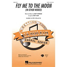 Hal Leonard Fly Me To The Moon (In Other Words) SSA Arranged by Kirby Shaw