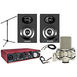 Focusrite Scarlett 2i4 MXL 990 Package (2i4 MXL 990 Package)