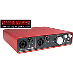 Focusrite Scarlett 6i6 Audio Interface (MOSC0007)