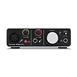 Focusrite iTrack Solo Audio Interface for iPad, Mac and PC (iTrack Solo)