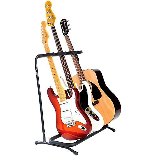 Fender Folding 3-Guitar Stand-thumbnail