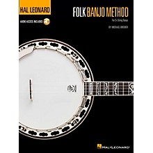 Hal Leonard Folk Banjo Method (Book/Audio Online)