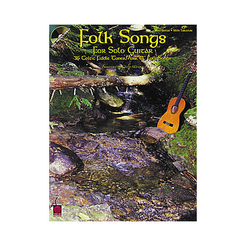 Cherry Lane Folk Songs for Solo Guitar Songbook with CD-thumbnail