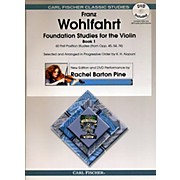 Carl Fischer Foundation Studies for Violin Book 1 (Book + DVD)