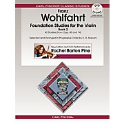 Carl Fischer Foundation Studies for the Violin, Book 2 (Book + DVD)