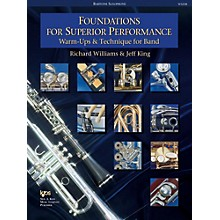 KJOS Foundations for Superior Performance Bari Sax