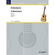 Schott Four Morceaux (Guitar Solo) Schott Series
