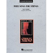 Edward B. Marks Music Company Four Songs for Strings Music for String Orchestra Series Arranged by Cliff Colnot