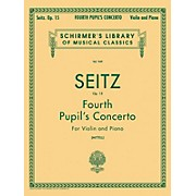 G. Schirmer Fourth Pupil's Concerto No 4 In D Op 15 Violin And Piano By Seitz