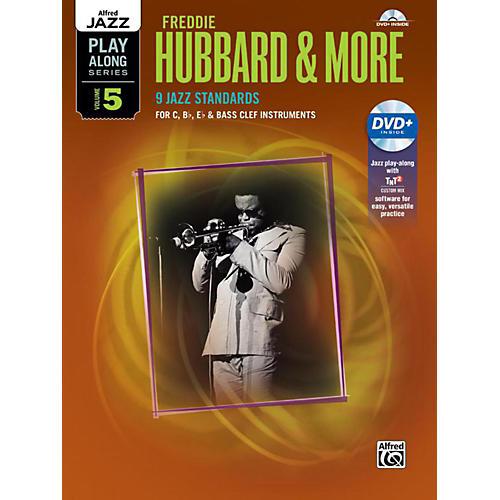 Alfred Freddie Hubbard & More - C, B-Flat, E-Flat & Bass Clef Book & CD-thumbnail