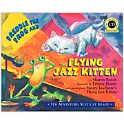 Hal Leonard Freddie The Frog And The Flying Jazz Kitten - 5th Adventure Scat Cat Island Book/CD