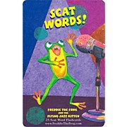 Hal Leonard Freddie The Frog And The Flying Jazz Kitten Scat Word Flashcard Set