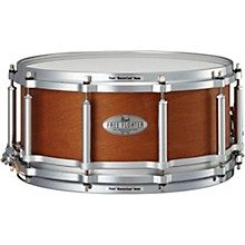 Pearl Free Floating Mahogany/Maple Snare Drum