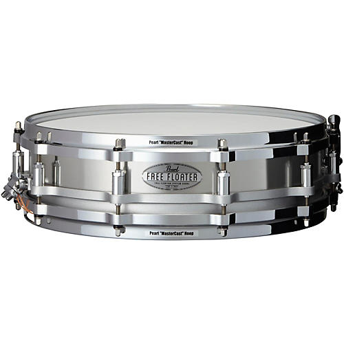 Pearl Free Floating Stainless Steel Snare Drum-thumbnail