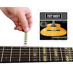 Fret Daddy The A Harmonic Minor Scale for Classical Guitar (CLHM-00016)