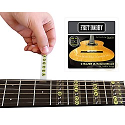 Fret Daddy The C Major Scale for Classical Guitar (CLCM-00014)