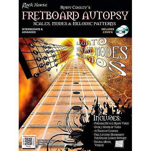 Rock House Fretboard Autopsy Book/2-DVD Set-thumbnail
