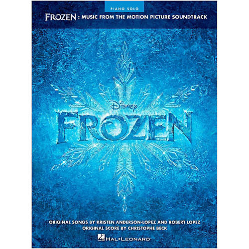 Hal Leonard Frozen - Music From The Motion Picture Soundtrack for Piano Solo-thumbnail
