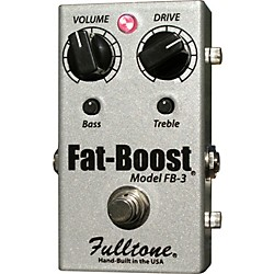 Fulltone FatBoost 3 FB-3 Guitar Effects Pedal (FB-3)