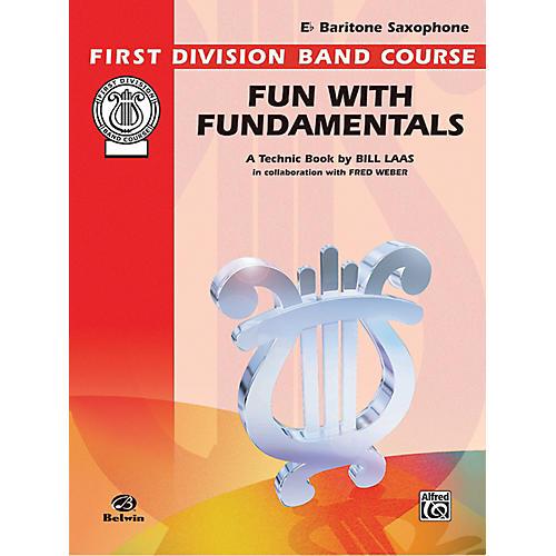 Alfred Fun with Fundamentals B-Flat Baritone Saxophone Book-thumbnail