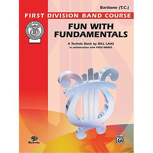 Alfred Fun with Fundamentals Baritone (T.C.) Book-thumbnail