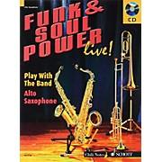 Schott Funk & Soul Power Live! Misc Series Book with CD Written by Gernot Dechert