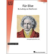 Hal Leonard Fur Elise - Showcase Solo Level 5 Intermediate Level Hal Leonard Student Piano Library by Jennifer Linn