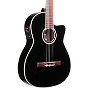 Cordoba Fusion 12 Jet Acoustic-Electric Nylon String Classical Guitar