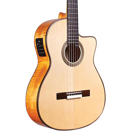 Cordoba Fusion 12 Maple Acoustic-Electric Nylon String Classical Guitar-thumbnail