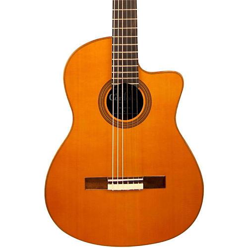 Cordoba Fusion Orchestra CE CD/IN Acoustic-Electric Nylon String Classical Guitar Cedar-thumbnail