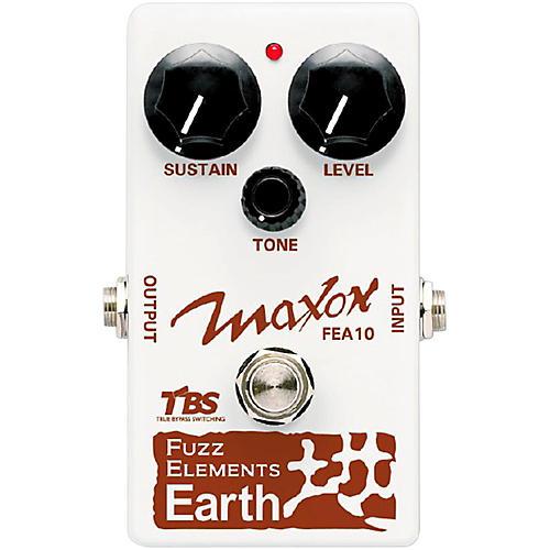 Maxon Fuzz Elements Earth Guitar Fuzz Pedal-thumbnail