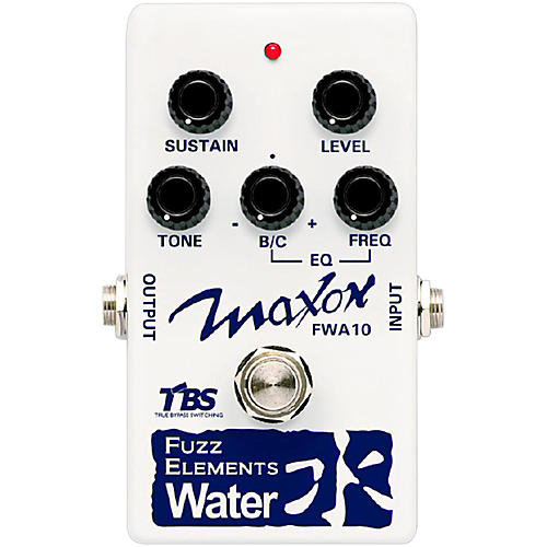 Maxon Fuzz Elements Water Guitar Fuzz Pedal-thumbnail